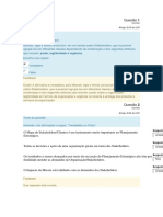 Planejamento Estratégico para Organizações Públicas - Módulo 3
