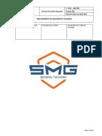 P - SMG -ANT 008 Procedimiento de Bloqueo y-o aislamiento Actualizado