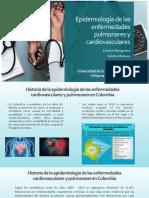 Epidemiología de las enfermedades pulmonares y cardiovasculares