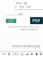 1. Diagnóstico y tratamiento de la rinitis alérgica (2017)