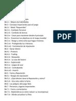 Guia Completa Del Juego en Español (1.7.0)
