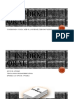 Diapositiva -Informe Oral