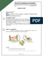 Guía 001 Historia Principales Civilizaciones
