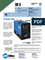 Máquina de Soldar de 500 amperios - Big-Blue-500X