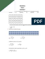 Estadística Ana V