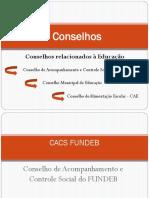 apresentação novos diretores CACS-CME-CAE