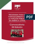 2021_Convocatoria XII Edicin Programa Fortalecimiento de La Funcin Pblica en Amrica Latina - FB