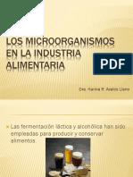 11Los microorganismos en la industria alimentaria
