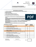 Indicaciones y Pauta de Evaluación Infografia 3 Medio Educacion Ciudadana