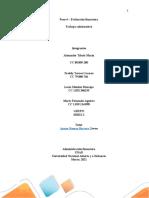 102022 Unidad 2 Paso 4 Evaluacion Financiera Trabajo Colaborativo Final