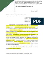 2.Artigo_CORRALES, Luciano. a Intertextualidade e Suas Origens
