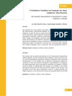 3.Artigo_FARIAS, J. P. & RAMALHO E OLIVEIRA, S. O fenômeno semiótico da tradução em Omar Calabrese- uma resenha