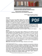 13. Intertextualidades interlinguísticas