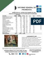 Promedios PU 226