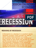 IMPACT OF GLOBAL RECESSION SHALU