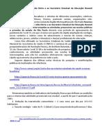 Apelo ao Governador João Dória e ao Secretário Estadual de Educação Rossieli Soares - mar 2021