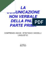 La Comunicazione non Verbale - PNL