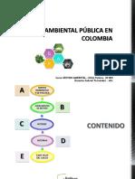 Presentación 5. Gestión ambiental pública_curso GA_2018II