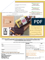 DRMP Chocolate Flyer