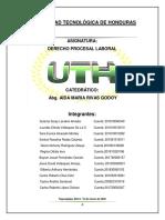 DERECHO PROCESAL LABORAL-LOS ACTOS DE COMUNICACION