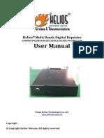 User Manual for Multi Bands Repeater