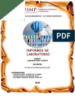 INFORMES DE LABORATORIO - PALOMINO - PALMA - ELERA