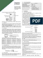 Temp and Humid Sensor (02311720 - IRM-S02TH V1.4)