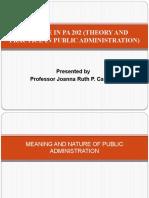 01 Public Administration