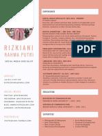 CV - Rizkiani Rahma Putri