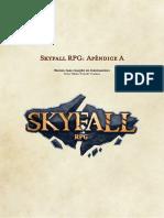 Skyfall RPG - Apêndice a - Criação de Personagens