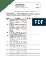 Lista Chequeo Actividad 1 de Aprendizaje - Formato