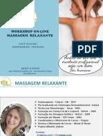 workshop massagem