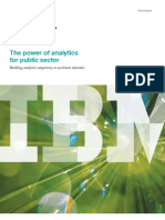 IBM Power of Analytics White Paper (2011)