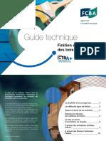 Guide finition et entretien des bois en extérieur