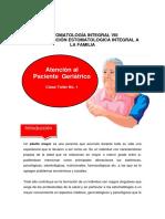 Atención al paciente geriatrico