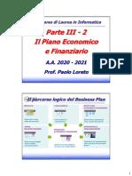 Piano Economic of i Nanzi a Rio