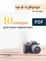 El Decalogo de La Fotografia Por LILI PALET - 2020