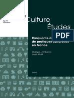 CE-2020-2_Cinquante ans de pratiques culturelles en France