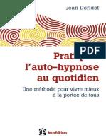 Doridot, Jean - Pratiquer l'auto-hypnose au quotidien