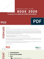 2020 IESE Case Book 2020 in partnership with BCG