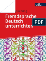Fremdsprache Deutsch Unterrichten_Wolfgang Gehring