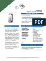 Filtro acoplador DIN xtp040704