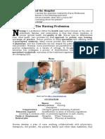 UNIT 1 BS the Nursing Profession