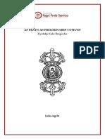 Kalu Rinpoche - As Práticas Preliminares Comuns