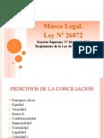 Conciliación Marco Legal DL 1070