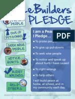 Peace Builder Pledge