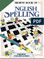 The Usborne Book of English Spelling