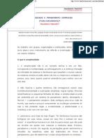 COMPLEXIDADE E PENSAMENTO C..