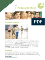 Schulsystem - Für Zuwandernde Mit Visum
