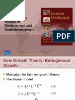 Chapter 3, Dev Econ